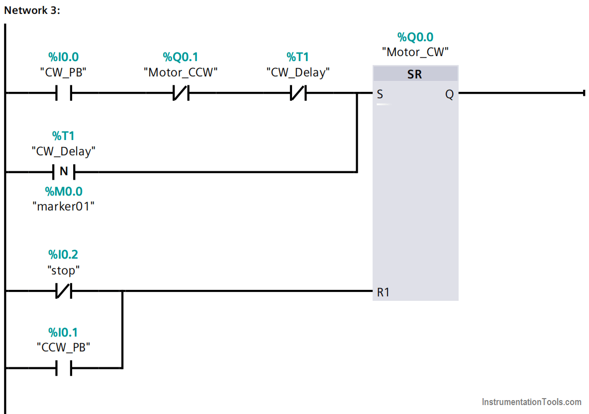 Motor in Forward and Reverse Direction